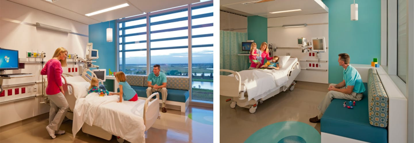 family patient hospital room northern beaches health hub